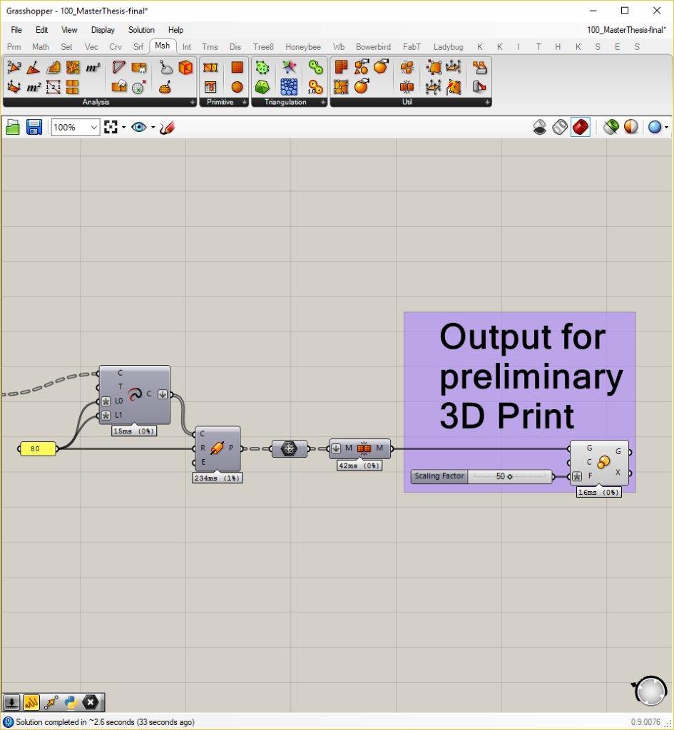 3D-Druck für die Planung